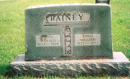 RAINEY, WILLIAM - Madison County, Arkansas | WILLIAM RAINEY - Arkansas Gravestone Photos