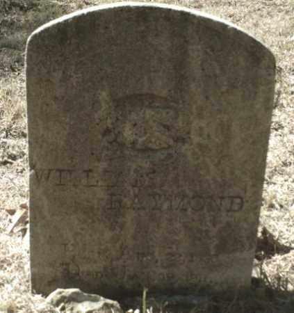 RAYMOND, WILLIAM - Madison County, Arkansas | WILLIAM RAYMOND - Arkansas Gravestone Photos