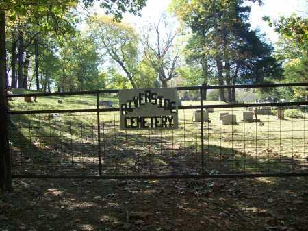 *RIVERSIDE CEMETERY,  - Madison County, Arkansas |  *RIVERSIDE CEMETERY - Arkansas Gravestone Photos