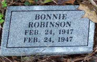 ROBINSON, BONNIE - Madison County, Arkansas | BONNIE ROBINSON - Arkansas Gravestone Photos