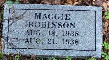 ROBINSON, MAGGIE - Madison County, Arkansas | MAGGIE ROBINSON - Arkansas Gravestone Photos