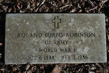 ROBINSON (VETERAN WWI), ROLAND BURNS - Madison County, Arkansas | ROLAND BURNS ROBINSON (VETERAN WWI) - Arkansas Gravestone Photos