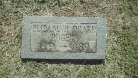 ROGERS, ELIZABETH - Madison County, Arkansas | ELIZABETH ROGERS - Arkansas Gravestone Photos