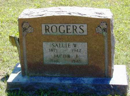 ROGERS, JACOB J. - Madison County, Arkansas | JACOB J. ROGERS - Arkansas Gravestone Photos