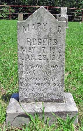 ROGERS, MARY C. - Madison County, Arkansas | MARY C. ROGERS - Arkansas Gravestone Photos