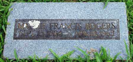 ROGERS, MAGGIE FRANCIS - Madison County, Arkansas | MAGGIE FRANCIS ROGERS - Arkansas Gravestone Photos