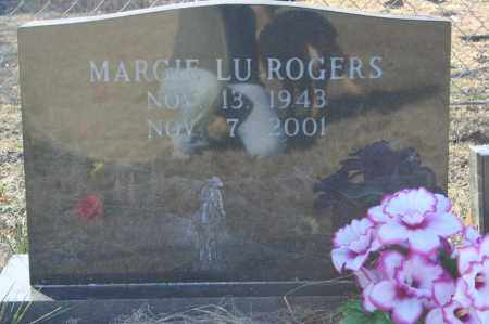 ROGERS, MARGIE LU - Madison County, Arkansas | MARGIE LU ROGERS - Arkansas Gravestone Photos
