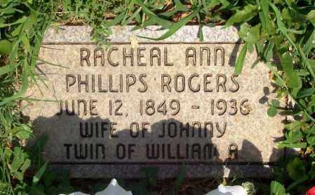 ROGERS, RACHEAL ANN - Madison County, Arkansas | RACHEAL ANN ROGERS - Arkansas Gravestone Photos