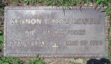 ROGERS (VETERAN), KENNON WAYNE - Madison County, Arkansas | KENNON WAYNE ROGERS (VETERAN) - Arkansas Gravestone Photos