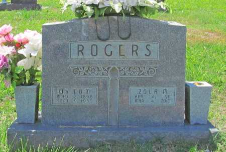 ROGERS, WILLIAM TOM - Madison County, Arkansas | WILLIAM TOM ROGERS - Arkansas Gravestone Photos