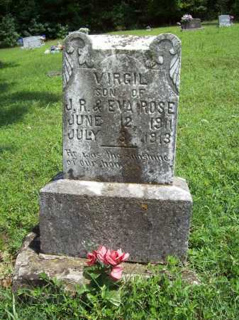 ROSE, VIRGIL - Madison County, Arkansas | VIRGIL ROSE - Arkansas Gravestone Photos