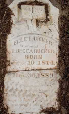 RUCKER, ELLET - Madison County, Arkansas | ELLET RUCKER - Arkansas Gravestone Photos
