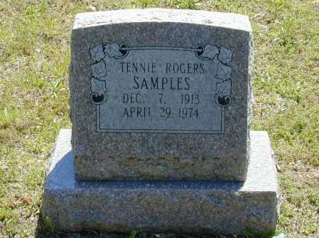 SAMPLES, TENNIE IVY - Madison County, Arkansas | TENNIE IVY SAMPLES - Arkansas Gravestone Photos