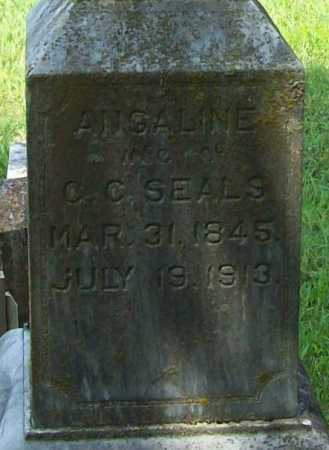 SEALS, ANGALINE (CLOSEUP) - Madison County, Arkansas | ANGALINE (CLOSEUP) SEALS - Arkansas Gravestone Photos