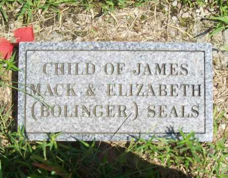 SEALS, CHILD - Madison County, Arkansas   CHILD SEALS - Arkansas Gravestone Photos
