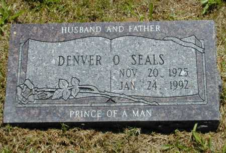 SEALS, DENVER O. - Madison County, Arkansas | DENVER O. SEALS - Arkansas Gravestone Photos
