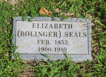 SEALS, ELIZABETH - Madison County, Arkansas | ELIZABETH SEALS - Arkansas Gravestone Photos