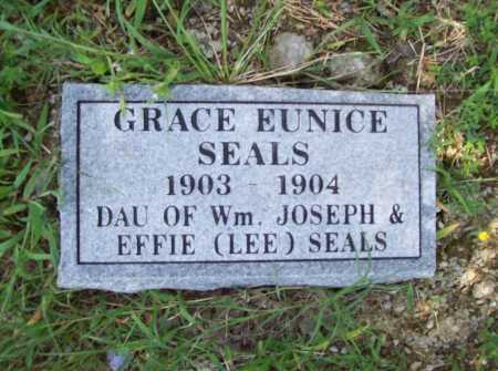 SEALS, GRACE EUNICE - Madison County, Arkansas | GRACE EUNICE SEALS - Arkansas Gravestone Photos