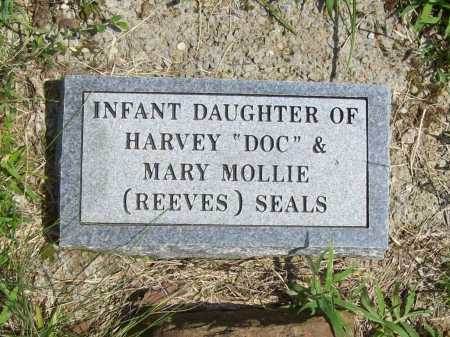 SEALS, INFANT DAUGHTER - Madison County, Arkansas | INFANT DAUGHTER SEALS - Arkansas Gravestone Photos