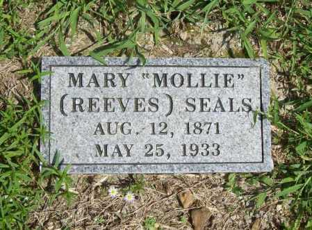 "SEALS, MARY ""MOLLIE"" - Madison County, Arkansas 