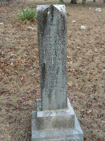 ANDERSON SHINN, ELLA - Madison County, Arkansas | ELLA ANDERSON SHINN - Arkansas Gravestone Photos