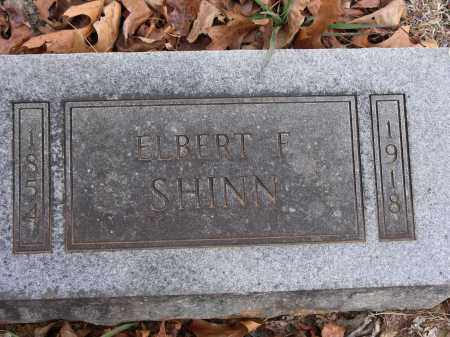 SHINN, ELBERT FRANCIS - Madison County, Arkansas | ELBERT FRANCIS SHINN - Arkansas Gravestone Photos