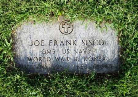 SISCO (VETERAN 2 WARS), JOE FRANK - Madison County, Arkansas | JOE FRANK SISCO (VETERAN 2 WARS) - Arkansas Gravestone Photos