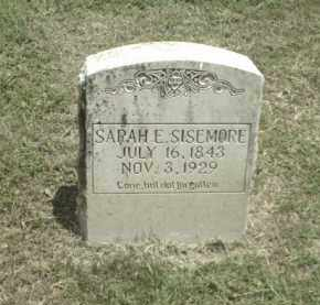 SISEMORE, SARAH E. - Madison County, Arkansas | SARAH E. SISEMORE - Arkansas Gravestone Photos