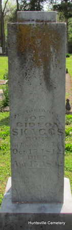 SKAGGS, GIDEON - Madison County, Arkansas | GIDEON SKAGGS - Arkansas Gravestone Photos