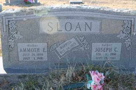 SLOAN, AMMOTH E. - Madison County, Arkansas | AMMOTH E. SLOAN - Arkansas Gravestone Photos