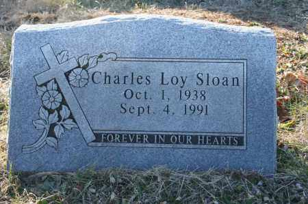 SLOAN, CHARLES LOY - Madison County, Arkansas | CHARLES LOY SLOAN - Arkansas Gravestone Photos