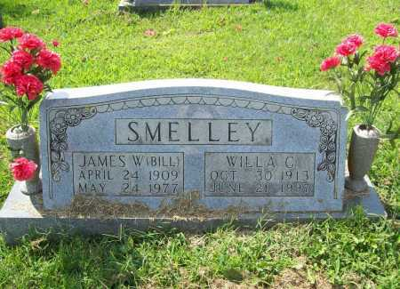 SMELLEY, JAMES W. (BILL) - Madison County, Arkansas | JAMES W. (BILL) SMELLEY - Arkansas Gravestone Photos