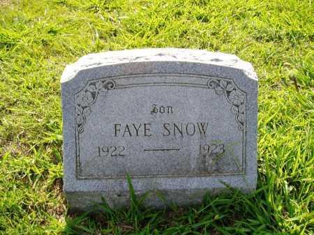 SNOW, FAY - Madison County, Arkansas | FAY SNOW - Arkansas Gravestone Photos
