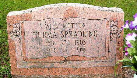 SPRADLING, HURMA - Madison County, Arkansas | HURMA SPRADLING - Arkansas Gravestone Photos