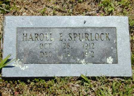 SPURLOCK, HAROLL E. - Madison County, Arkansas | HAROLL E. SPURLOCK - Arkansas Gravestone Photos