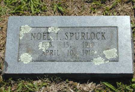 SPURLOCK, NOEL I. - Madison County, Arkansas | NOEL I. SPURLOCK - Arkansas Gravestone Photos