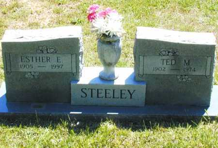 STEELEY, ESTHER E. - Madison County, Arkansas | ESTHER E. STEELEY - Arkansas Gravestone Photos