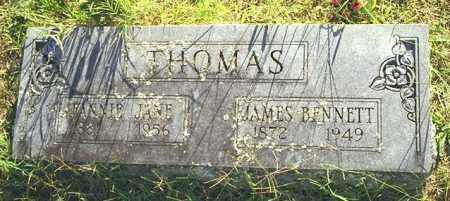THOMAS, JAMES BENNETT - Madison County, Arkansas | JAMES BENNETT THOMAS - Arkansas Gravestone Photos