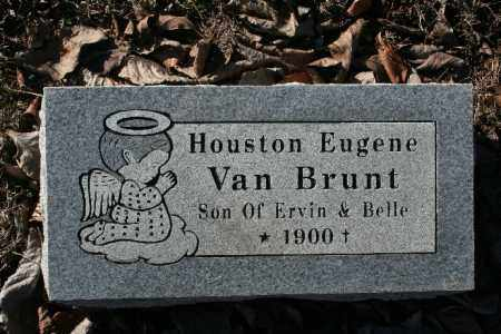 VANBRUNT, HOUSTON EUGENE - Madison County, Arkansas | HOUSTON EUGENE VANBRUNT - Arkansas Gravestone Photos