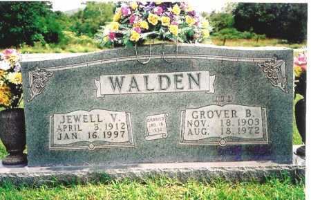 WALDEN, GROVER B. - Madison County, Arkansas | GROVER B. WALDEN - Arkansas Gravestone Photos