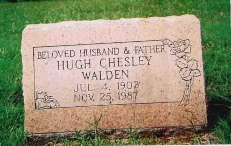 WALDEN, HUGH CHESLEY - Madison County, Arkansas | HUGH CHESLEY WALDEN - Arkansas Gravestone Photos