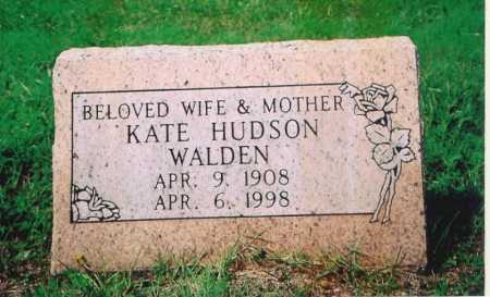 HUDSON WALDEN, KATE - Madison County, Arkansas | KATE HUDSON WALDEN - Arkansas Gravestone Photos