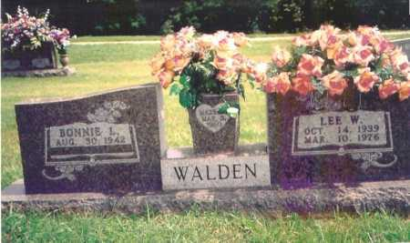 WALDEN, LEE W. - Madison County, Arkansas | LEE W. WALDEN - Arkansas Gravestone Photos