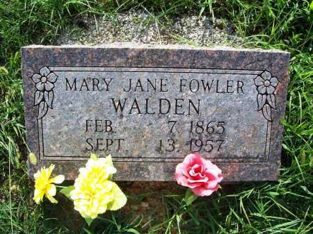FOWLER, MARY JANE - Madison County, Arkansas | MARY JANE FOWLER - Arkansas Gravestone Photos