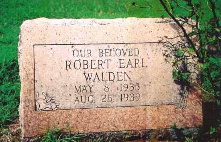 WALDEN, ROBERT EARL - Madison County, Arkansas | ROBERT EARL WALDEN - Arkansas Gravestone Photos