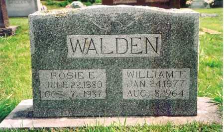 WALDEN, ROSIE E. - Madison County, Arkansas | ROSIE E. WALDEN - Arkansas Gravestone Photos