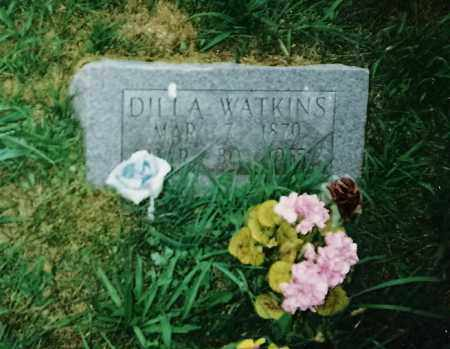 WATKINS, DILLA - Madison County, Arkansas | DILLA WATKINS - Arkansas Gravestone Photos