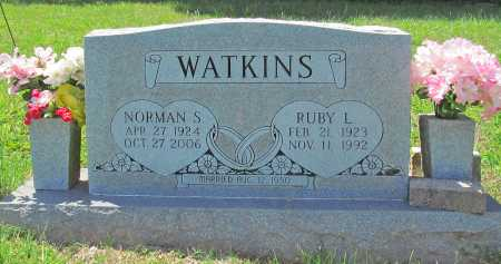 WATKINS, NORMAN S - Madison County, Arkansas | NORMAN S WATKINS - Arkansas Gravestone Photos