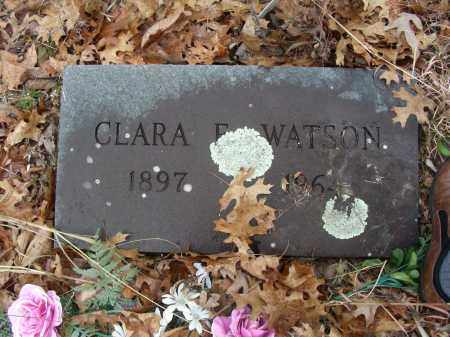 COOK WATSON, CLARA ETHEL - Madison County, Arkansas | CLARA ETHEL COOK WATSON - Arkansas Gravestone Photos