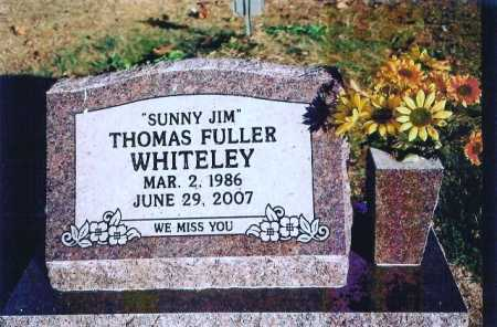 "WHITELEY, THOMAS FULLER ""SUNNY JIM"" - Madison County, Arkansas 